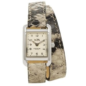Coach Exotic Embossed Python Ladies Watch #1450245